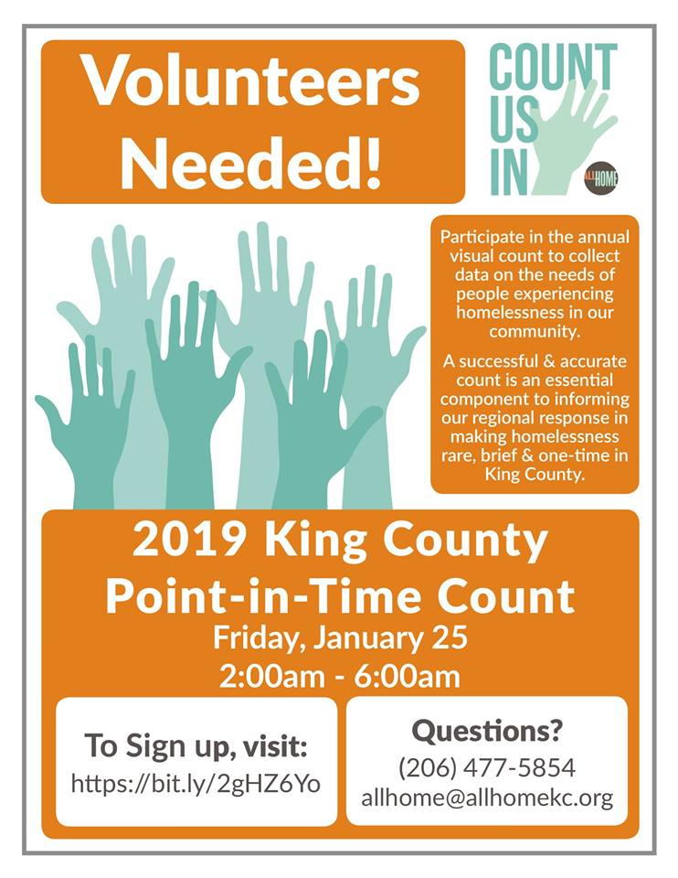 King County Point In Time Count 2019
