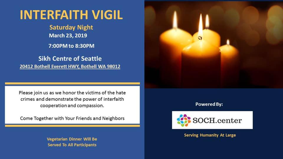 SOCH Interfaith Vigil