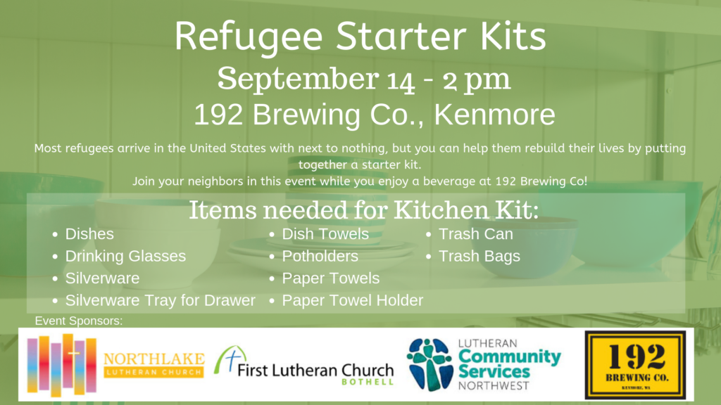 Refugee Starter Kits