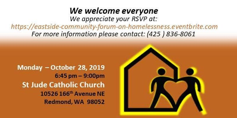 Eastside Community Forum on Homelessness and Poverty