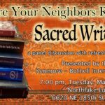 Your Neighbors Readings Sacred Writings