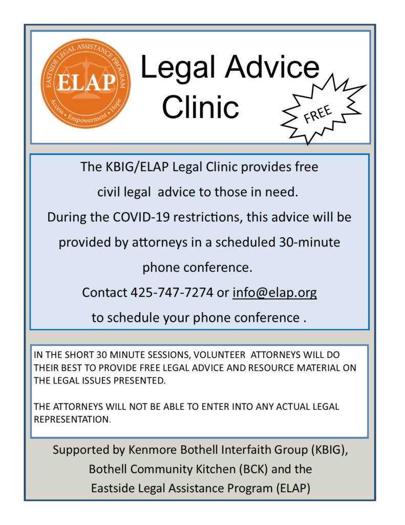 KBIG EMAP Legal Clinic