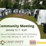 Camp Unity Community Meeting 2021 Jan 12